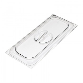 Gastro-M lid for ice cream basin polycarbonate