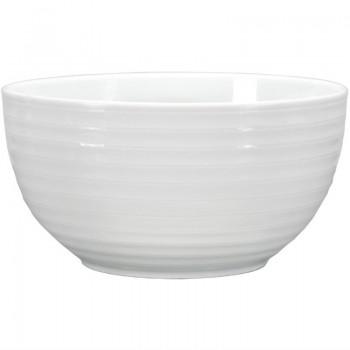 Intenzzo White salad bowl 21 x 10 cm