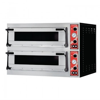 GASTRO-M pizzaoven 2 chamber type ''Rome 2''