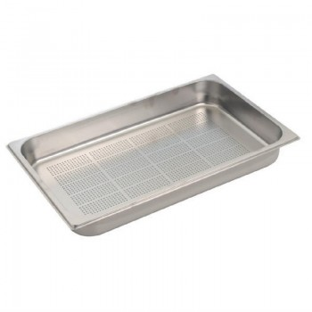 Gastro M Stainless Steel Gastronorm Pan Perforated 1/1GN 55mm