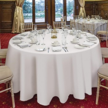 Occasions Tablecloth White 2290 x 2290mm