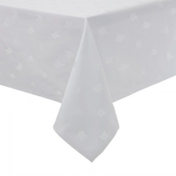 Luxor Tablecloth White 1350 x 1350mm