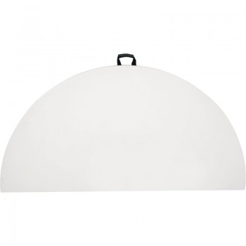 Bolero Round Centre Folding Table 6ft White