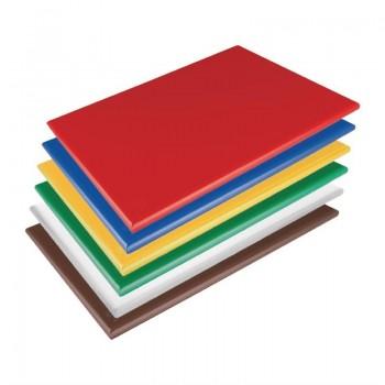 Hygiplas Low Density Chopping Boards 600x450x20mm Set of 6