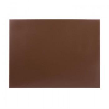 Hygiplas High Density Brown Chopping Board Large