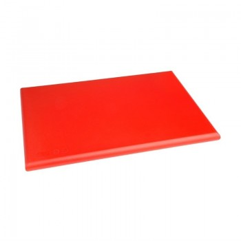 Hygiplas Extra Thick High Density Red Chopping Board Standard