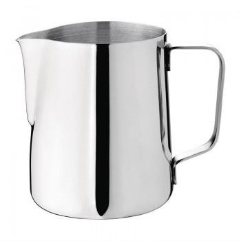 Olympia Stainless Steel Milk Jug 340ml