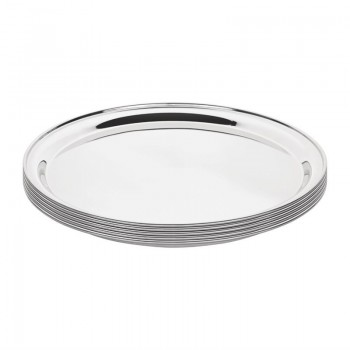 Olympia Stainless Steel Round Service Tray 305mm
