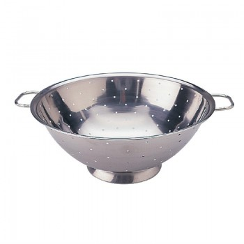Vogue Stainless Steel Colander 9''