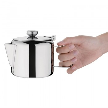 Olympia Concorde Stainless Steel Teapot 570ml