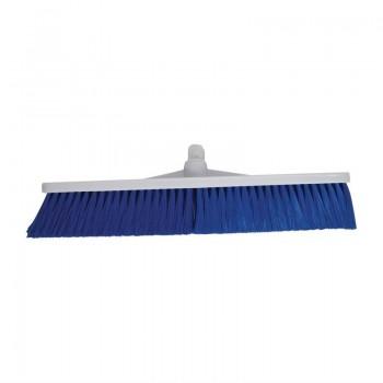 SYR Hygiene Broom Head Soft Bristle Blue