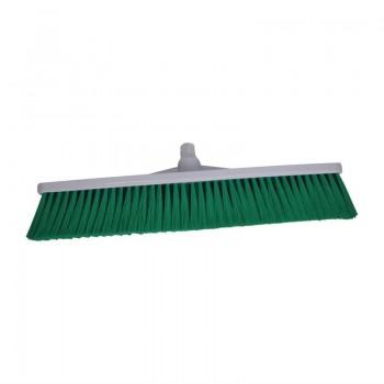 SYR Hygiene Broom Head Soft Bristle Green