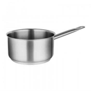 Vogue Stainless Steel Saucepan 8Ltr