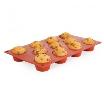 Pavoni Formaflex Silicone Mini Muffin Mould 11 Cup
