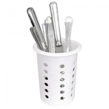 Plastic Cutlery Basket Round