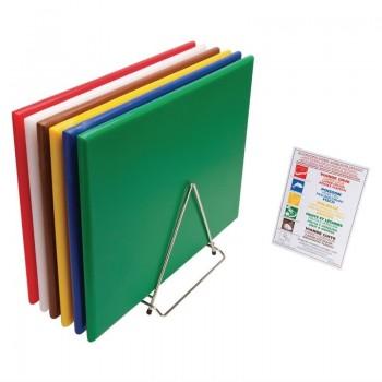 Hygiplas High Density Chopping Board Set Extra Large