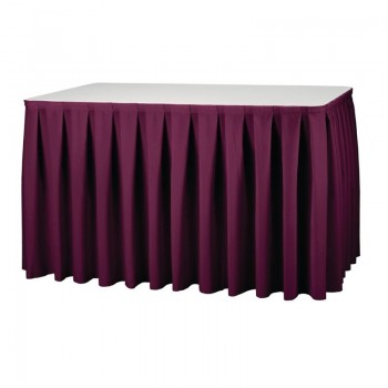 Table Skirting - Bourdeaux Boxpleat Style