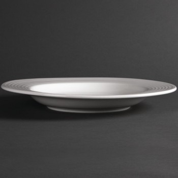 Olympia Linear Pasta Plates 310mm