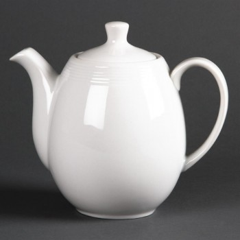 Olympia Linear Coffee or Teapots 1Ltr