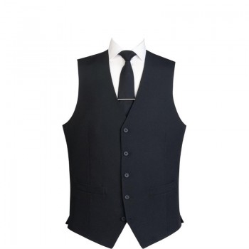 Events Mens Black Waistcoat - Size XXL