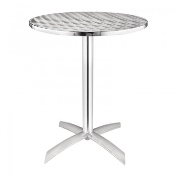 Bolero Flip Top Table Stainless Steel 600mm