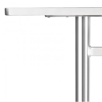 Bolero Double Pedestal Table Rectangular 1200mm