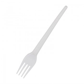 Fiesta Disposable Plastic Forks White