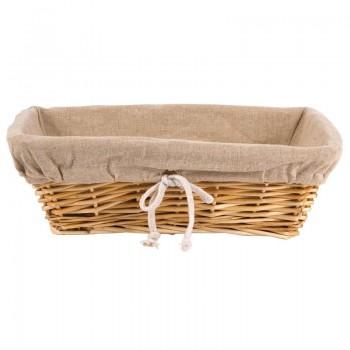 Wicker Rectangular Basket