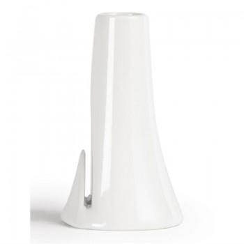 Olympia Whiteware Bud Vase with Card Slot
