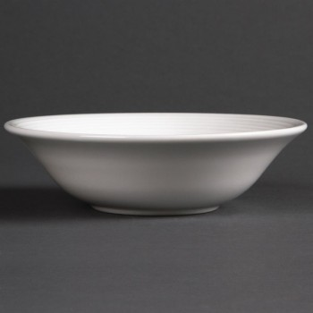 Olympia Linear Oatmeal Bowls 150mm