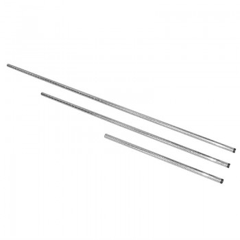 Vogue Chrome Upright Posts 660mm Pack of 2