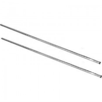 Vogue Chrome Upright Posts 1270mm Pack of 2