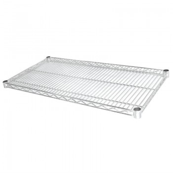 Vogue Chrome Wire Shelves 1220x610mm Pack of 2