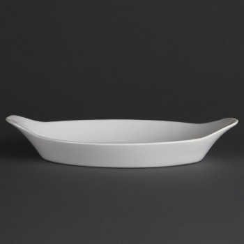 Olympia Whiteware Oval Eared Dishes 289mm
