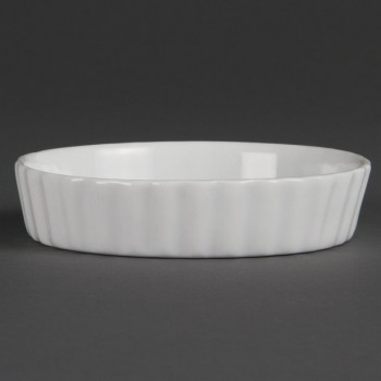 Olympia Whiteware Flan Dishes 112mm