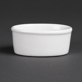 Olympia Whiteware Oval Ramekins 105mm