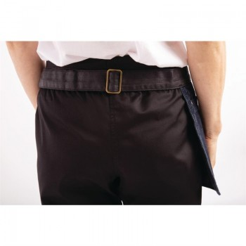 Chef Works Urban Indy Hipster Apron Navy Black