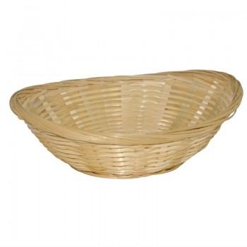 Wicker Oval Bread Basket