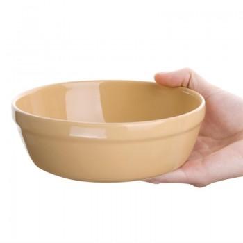 Olympia Stoneware Round Pie Bowls 156mm