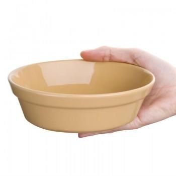 Olympia Stoneware Oval Pie Bowls 161 x 116mm