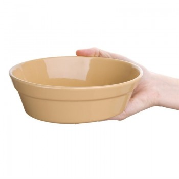 Olympia Stoneware Oval Pie Bowls 180 x 133mm