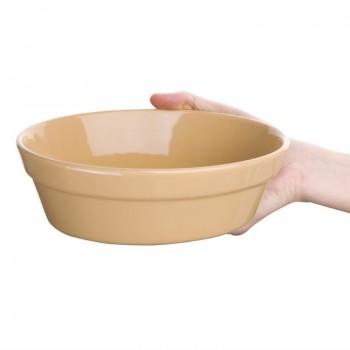 Olympia Stoneware Oval Pie Bowls 197 x 142mm