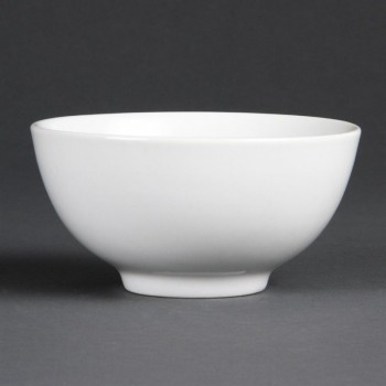Olympia Whiteware Rice Bowls 130mm