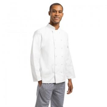 Whites Vegas Unisex Chef Jacket Long Sleeve White - XXL