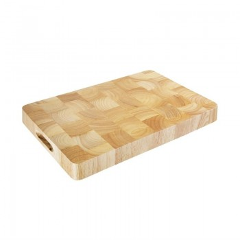 Vogue Rectangular Wooden Chopping Board Medium