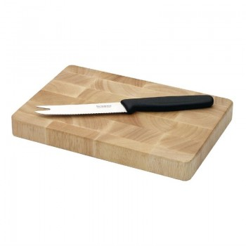 Vogue Rectangular Wooden Chopping Board Small