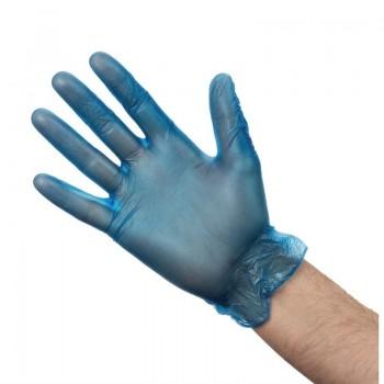 Vogue Powdered Vinyl Gloves M