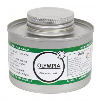 Olympia Liquid Chafing Fuel With Wick 6 Hour x 12