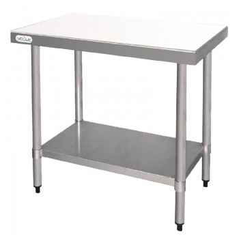 Vogue Stainless Steel Chopping Board Table 900mm
