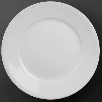 Athena Hotelware Wide Rimmed Plates 280mm